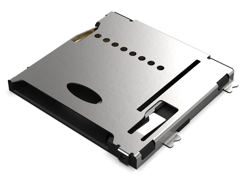 MEM2075 - MicroSD Push push Memory Card Connector