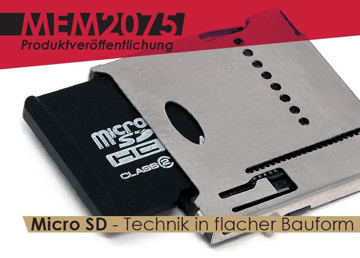 MEM2075 - Push Push MicroSD-Stecker am Limit