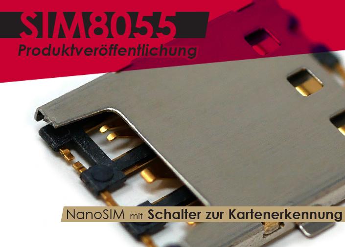 Nano-Sim-Anschluss mit Schalter