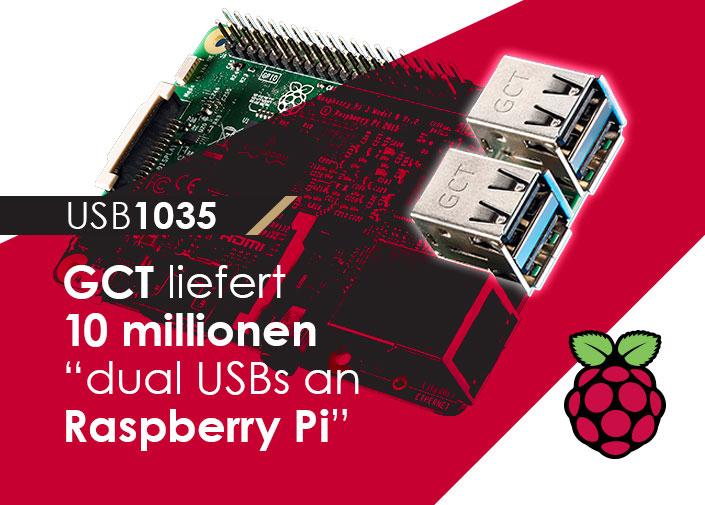 Dual USB-Anschlüsse Raspberry Pi